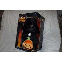 Figura De Darth Vader C/calabaza Hallowen 50 Cms Nuevo S.w.