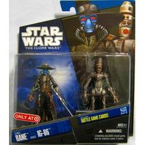 Cad Bane & Ig 86 Star Wars The Clone Wars Target Trabucle