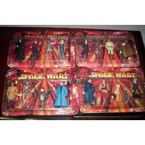 Star Wars Mexicanos Super Set De 4 Muñecos Con Accesorios