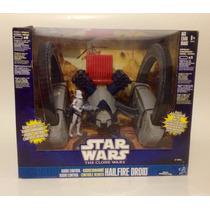 Star Wars Hailfire Droid Vehiculo Radio Control Clone Wars