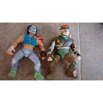 Tortugas Ninja Lote De Figuras Vintage Claritoys