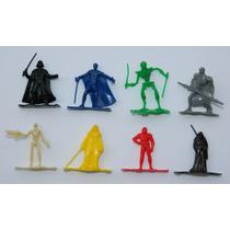 Promocion Completa De 8 Figuritas De Star Wars De Barcel
