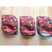 Set De 3 Paquetes De Cars Mighty Beanz. Frijoles Saltarines