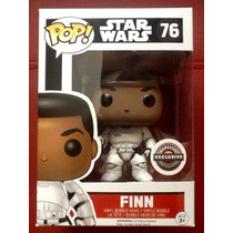 Funko Pop Star Wars The Force Awakens Finn Edición Especial