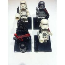 Kylo Ren Phasma Flametrooper Snowtrooper Minifiguras Lego