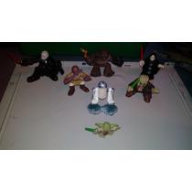 Star Wars Galactic Heroes Lote 7 Figuras