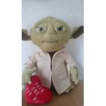 Peluche Grande De Yoda 60 Cm Star Wars Original Nuevo