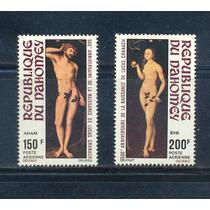 L99-dahomey Adan Y Eva Pinturas Nuevos Aéreos 1972-