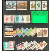 Anualidad De Timbres De Mexico De El Año De 1977