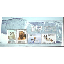 2014 Australia Territorio Antártico Perros Era Del Husky Mnh