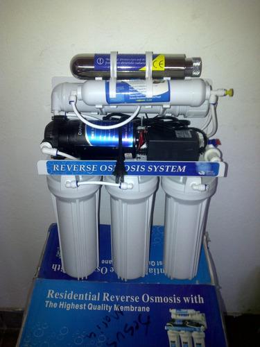 Filtro De Osmosis Inversa 6 Etapas 100g Tiene Bomba - $ 3,799.00 en MercadoLibre
