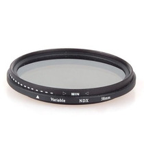 Filtro Densidad Neutra Variable 58mm Nd2 A Nd400 Hm4