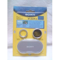 Filtro Multicapa Polarizado Original Sony Vf-cpks 25 Mm.