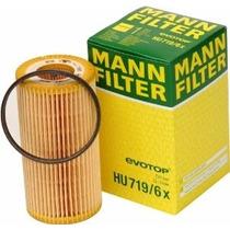 Hu719/6x Filtro Aceite Cartucho Bora, Jetta 2.0 Y 2.5 Mann
