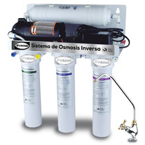 Sistema Purificador Osmosis Inversa 50 Gpd Bomba Y Tanque