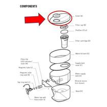 Tapa Del Tanque Super Pimag Waterfall Nikken - Repuesto