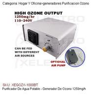 Purificador De Agua Potable - Generador De Ozono 1250mg/h