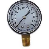 Piscina Spa Filtro De Agua Manómetro 0-60 Psi Montaje Inferi