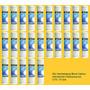 25 Piezas Filtro Cartucho Carbon Activado En Bloque 2.5x10