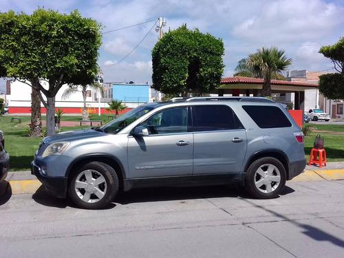 Flamante Camioneta Gmc Acadia 2007 Equipada Llantas Nuevas