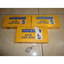 Lote De 32 Flash Bulbs Numero 5 General Electric Vintage +++
