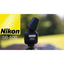 Flash Nikon Sb500 Af Camaras Nikon Gira 180° Inclinacion 90°