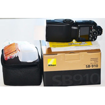 Flash Nikon Sb-910 Sb910 Nuevo D7100 D750 Nuevo En Caja