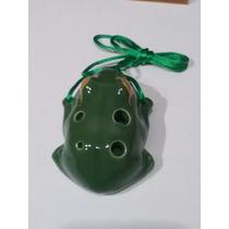 Ocarina Rana 6 Orificios Cerámica Importada