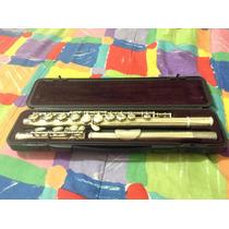 Flauta Transversal Yamaha 221 Usada Afinada