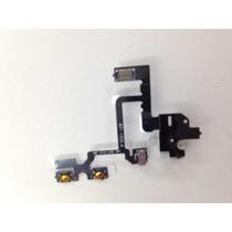 Flex Cable Jack Volumen Vibrador Audifono Iphone 4