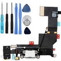 Flex Centro De Carga Original Jack Audio Micrófono Iphone 5s
