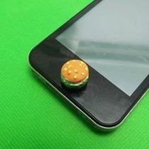 Boton Inicio Hamburguesa Sticker Iphone Ipad Ipod Celular