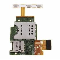 Flex Sim Microsd Boton Power Y Volumen Sony Xperia J St26