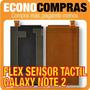 Flex Sensor Tactil De Pantalla Para Galaxy Note2 100% Nuevo!