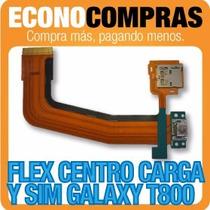 Flex Centro De Carga Para Samsung T800 3g 100% Nuevo!!!!!!!!