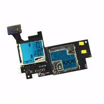 Flex Lector De Sim Y Memoria Galaxy Note 2 N7100 Flexor Orig