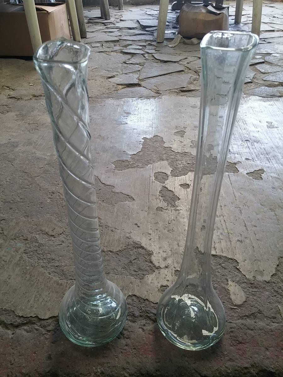 Florero vidrio soplado 45 cm centro de mesa xv a os boda - Precios de centros de mesa para boda ...