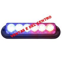 Codigos Estrobos Torreta Escoltas Leds 3era Gen Policia Vv4