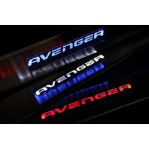 Estribos Iluminados Led Dodge Avenger