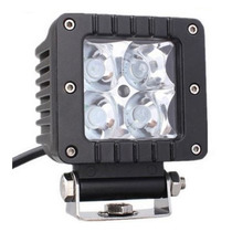 Faro Con Lupa Cree Led 16w Jeep 4x4 Atv Moto Awd Rzr Dually
