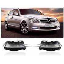 Luz De Dia Led Drl Mercedes Benz Clase C 2011-13. C200 C300