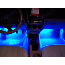 Luces Led 4x3 Azules Para Decoracion En Interiores Vehiculos