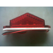 Plafon Lateral 3 Led Rojo