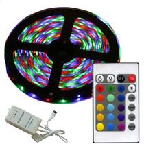 Tira Rollo Rgb Multicolor + Modulo Control Remoto 16 Colores