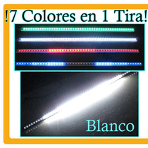 Tira Escaner Knight Rider Led 5050 Auto Increíble Hm4 Tuning
