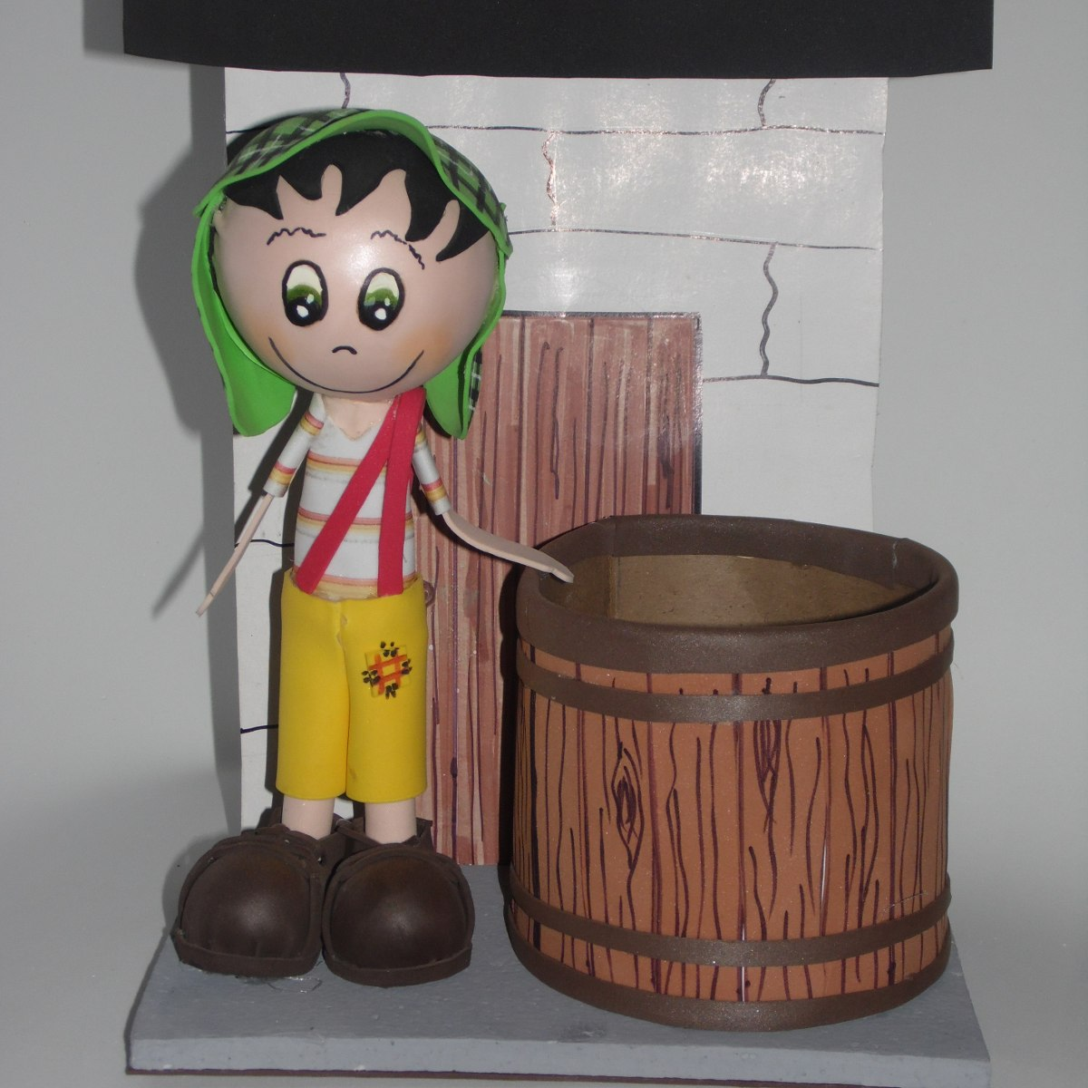 Centros mesa infantiles recuerdos servilleteros madera - Mesas infantiles madera ...