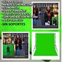 Fondo Pantalla Verde Chroma Key/ Fondo De Tela De 3 X3 Mts