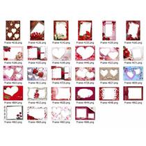 Frames Psd Plantillas Amor Y Amistad Valentin Recursos