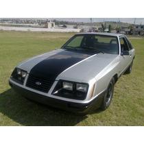 Ford Mustang Fastback Svo 1984 Original.