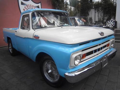 Ford F100 1964 Clasica Estandar Factura Original